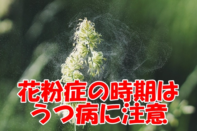 花粉症の時期はうつ病に注意~双極性障害の妻が実践する自律神経の整え方